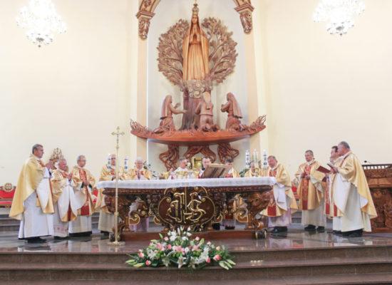 Konsekracja Sanktuarium Matki Bożej Fatimskiej w Dołbyszu na Ukrainie