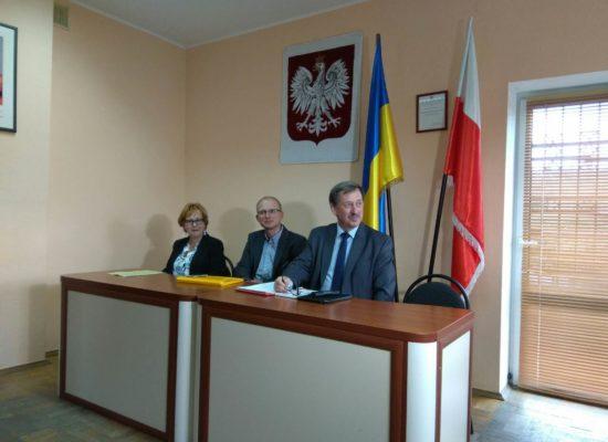 Polska delegacja w Żytomierzu