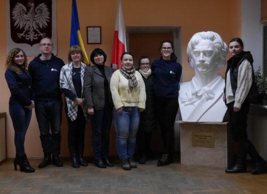 UKRAINA WITA SIARCZYSTYM MROZEM