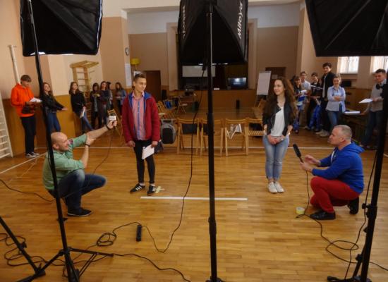 Warsztaty medialne dla młodych dziennikarzy na Ukrainie