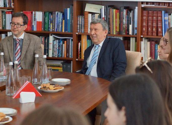 Spotkanie stypendystów w Konsulacie RP we Lwowie