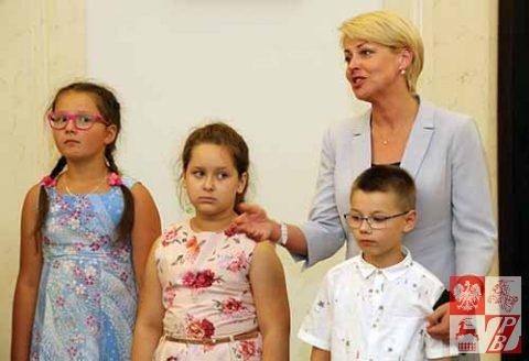 Dzieci i młodzież z Białorusi w Pałacu Prezydenckim