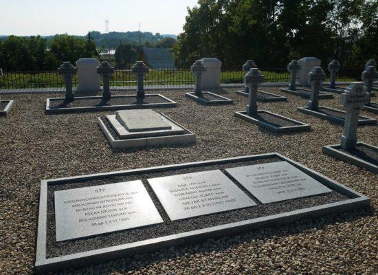 Poświęcenie polskiego cmentarza wojennego na Białorusi z udziałem ministra Czaputowicza