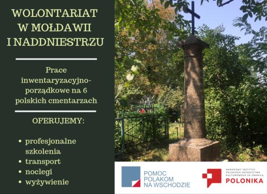 Wolontariat w Mołdawii – ogłoszenie