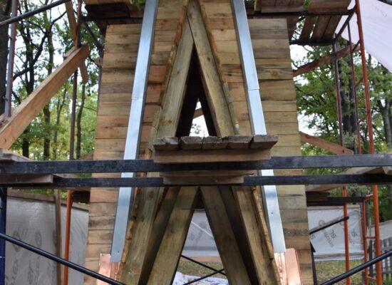 Miedziany dach Kaplicy Grobowej Rodu Orzeszków w Zakozielu