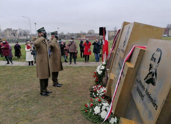 Dowódccy Ofensywy Dyneburskiej uhonorowani pomnikiem